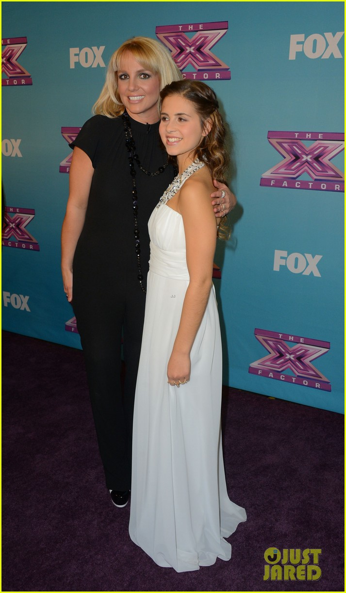 britney spears carly rose sonenclar x factor finale party 132778617