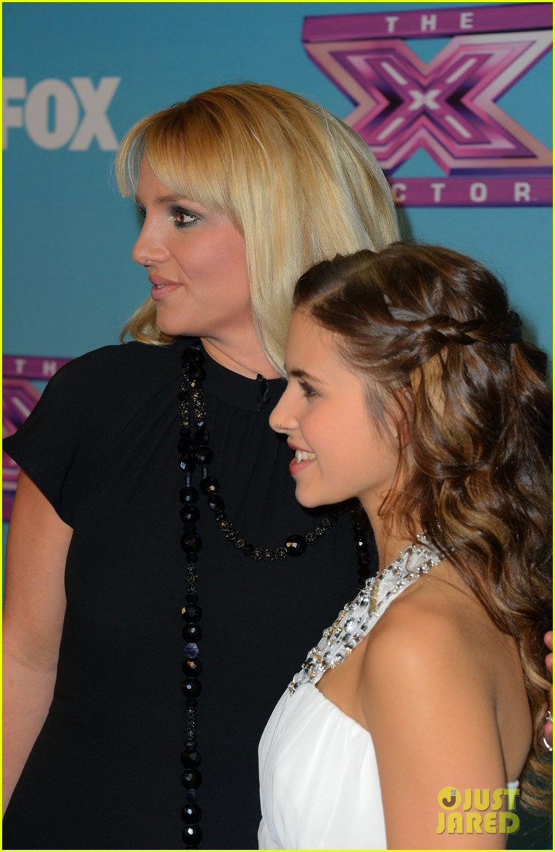 britney spears carly rose sonenclar x factor finale party 152778619