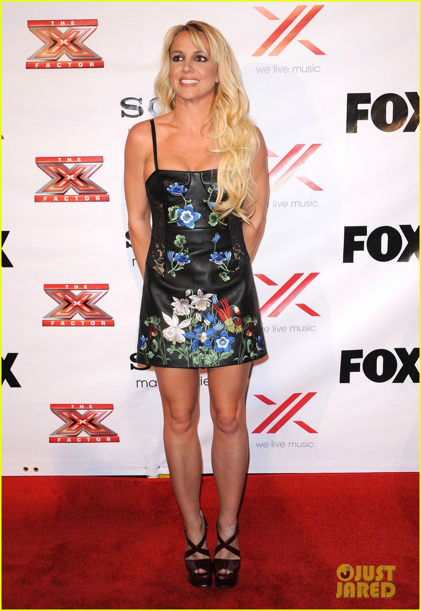 britney spears demi lovato x factor viewing  party 112771026
