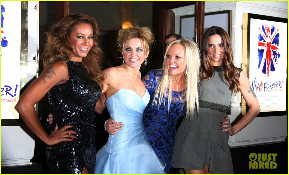 spice girls attend viva forever press night 062773820