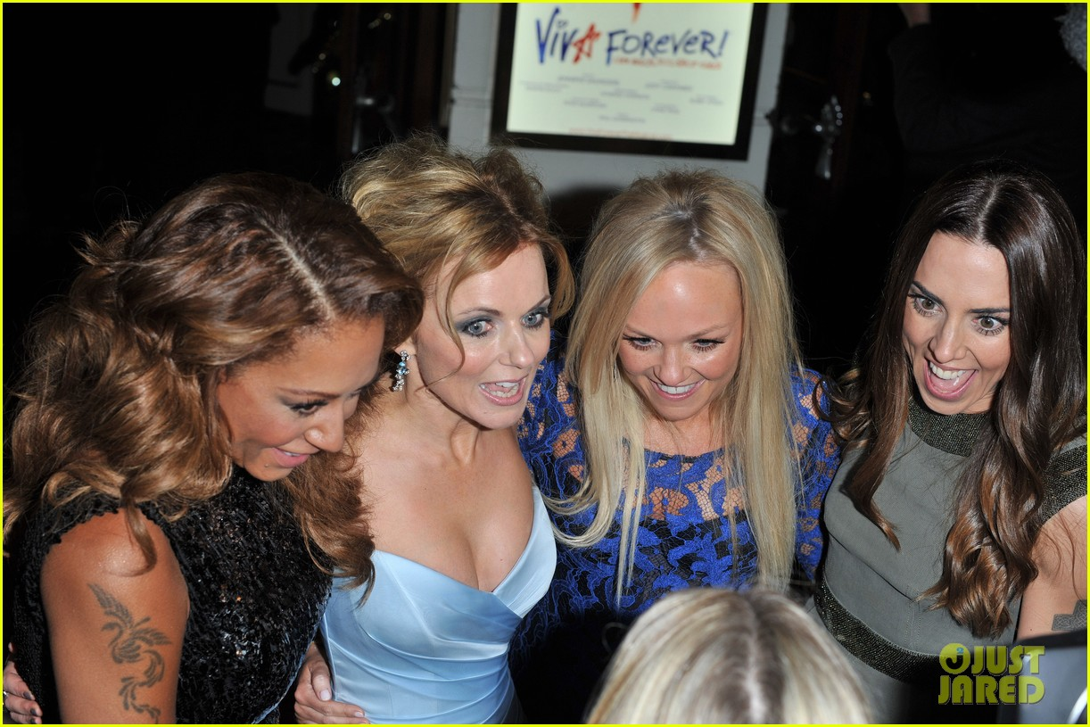 spice girls attend viva forever press night 132773827