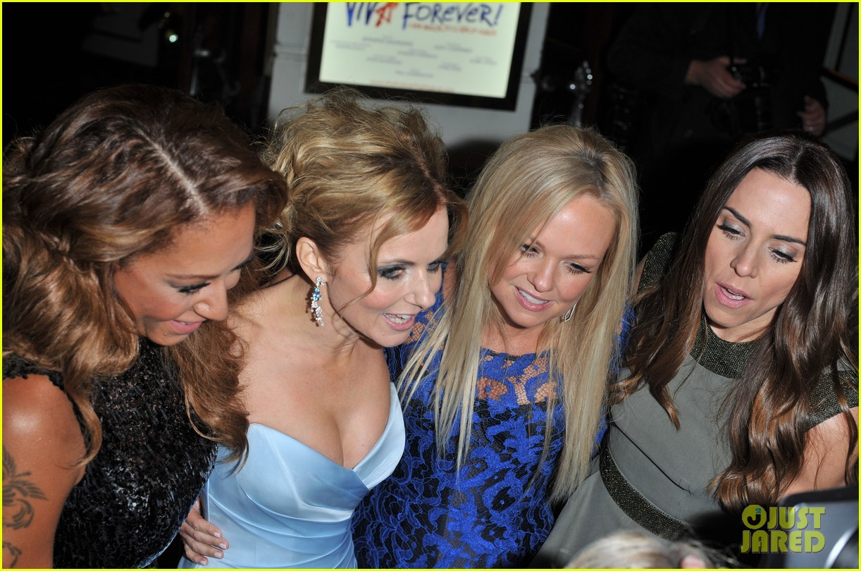 spice girls attend viva forever press night 142773828