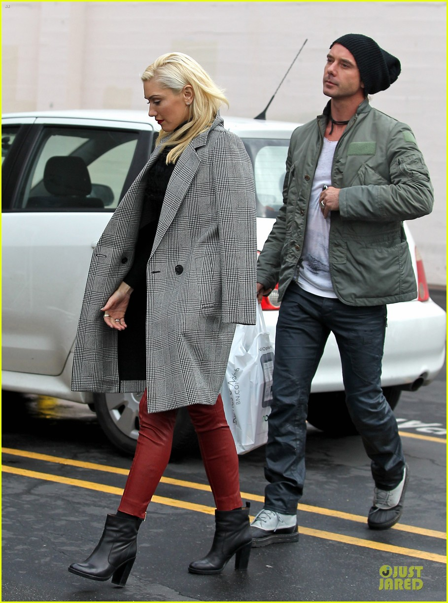 gwen stefani & gavin rossdale holiday shopping couple 132778204