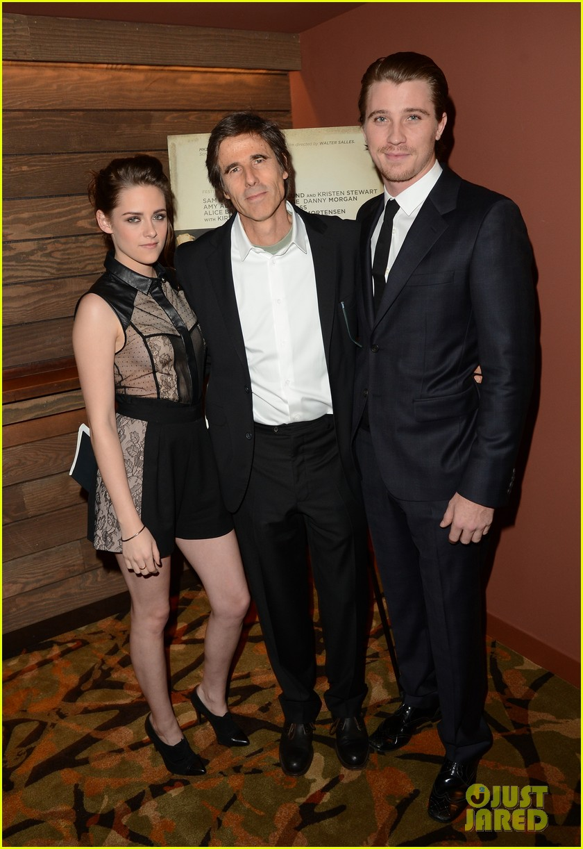 kristen stewart garrett hedlund on the road screening 032771050