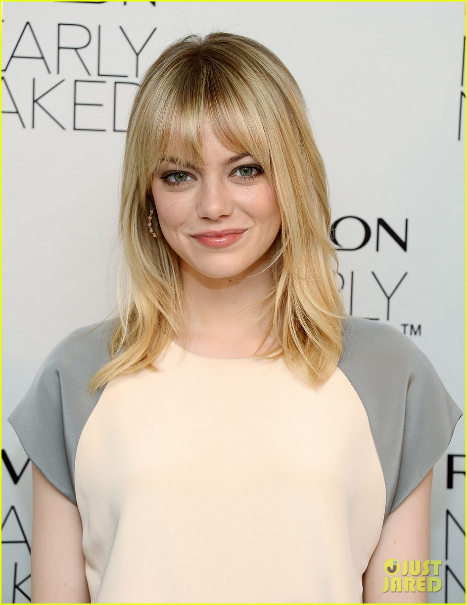 emma stone revlons nearly naked makeup launch 042769651