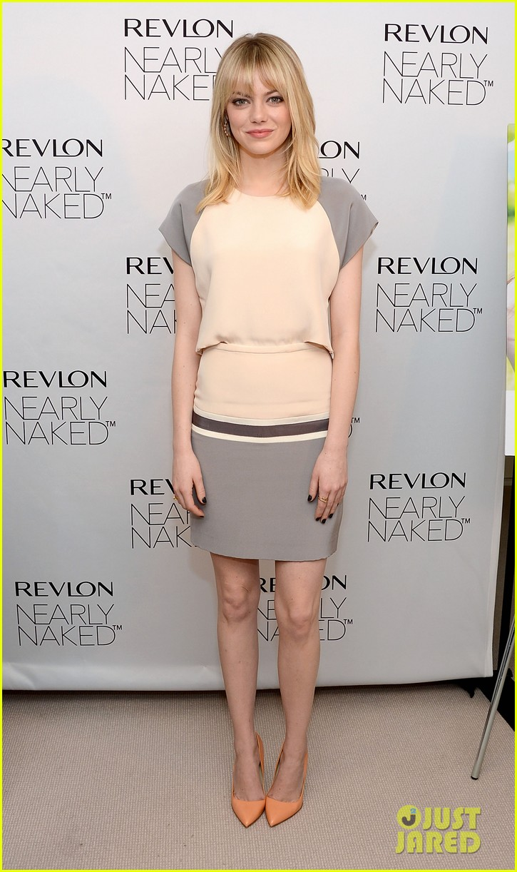 emma stone revlons nearly naked makeup launch 052769652