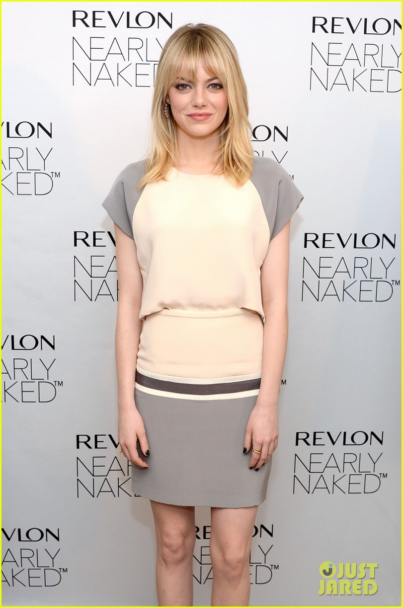 emma stone revlons nearly naked makeup launch 072769654