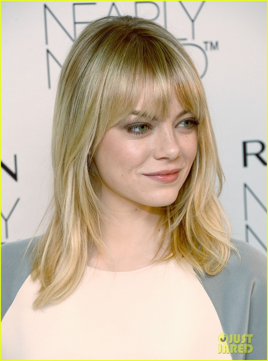 emma stone revlons nearly naked makeup launch 08