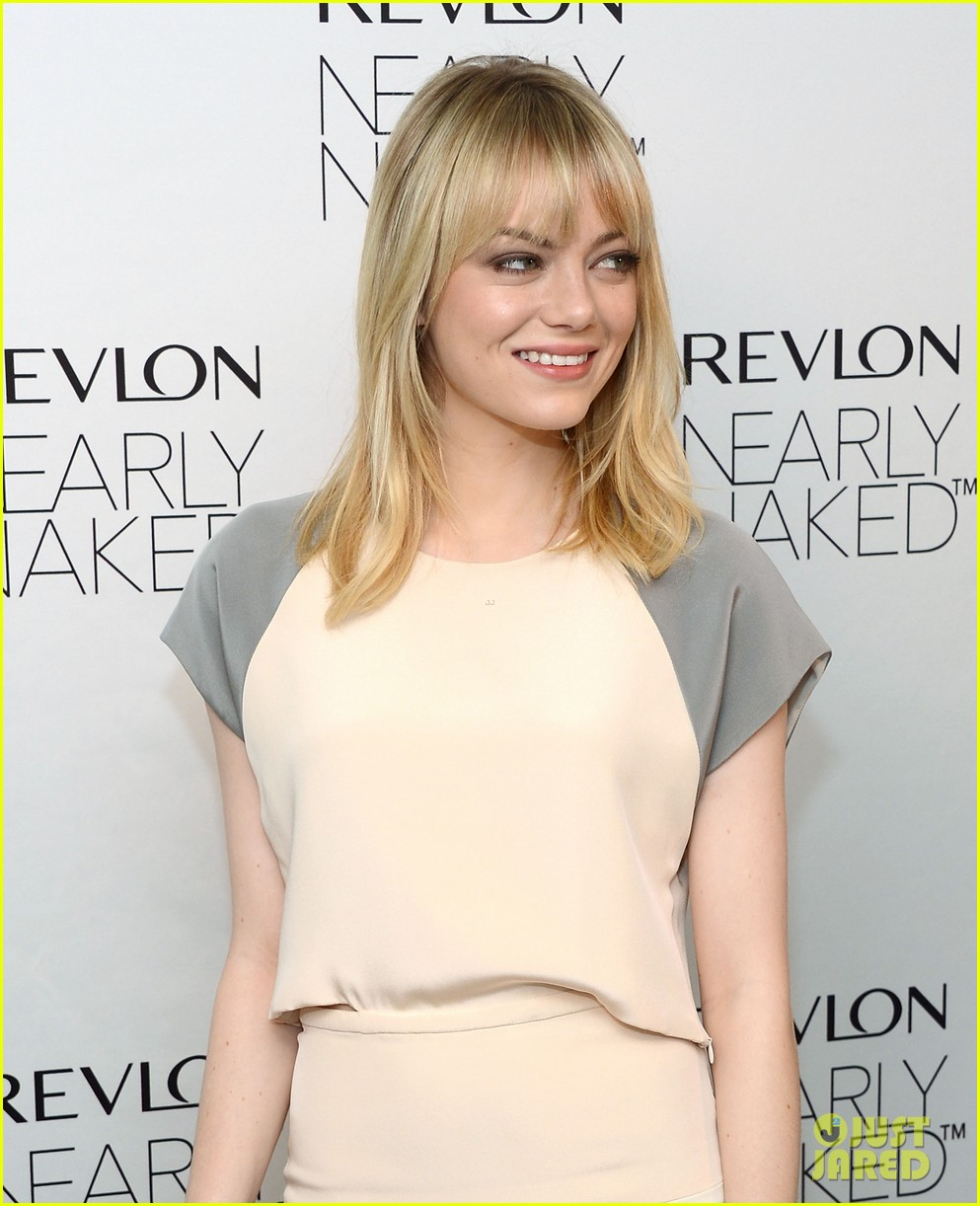 emma stone revlons nearly naked makeup launch 102769657