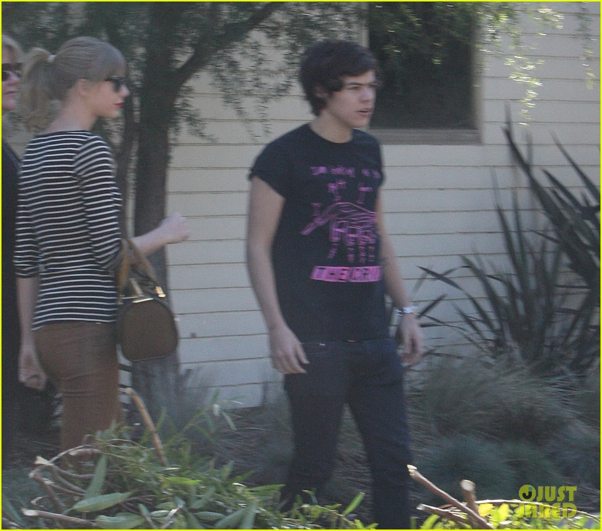 taylor swift harry styles leave her home in la 012778327