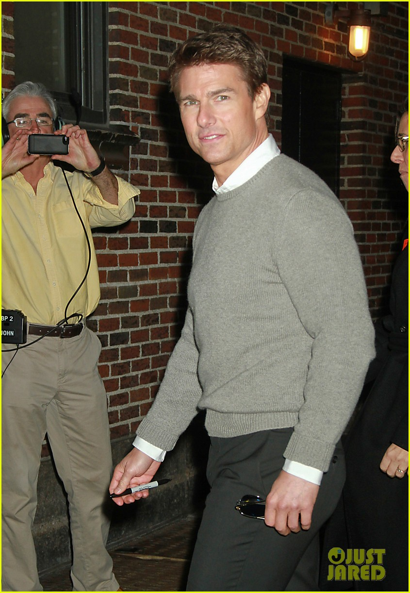 tom cruise david letterman guest 022777349