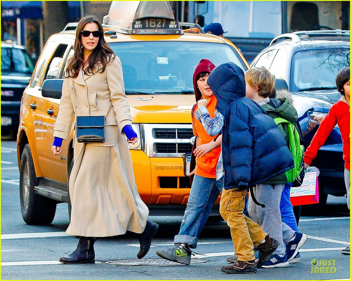 liv tyler milos birthday walk 142776544