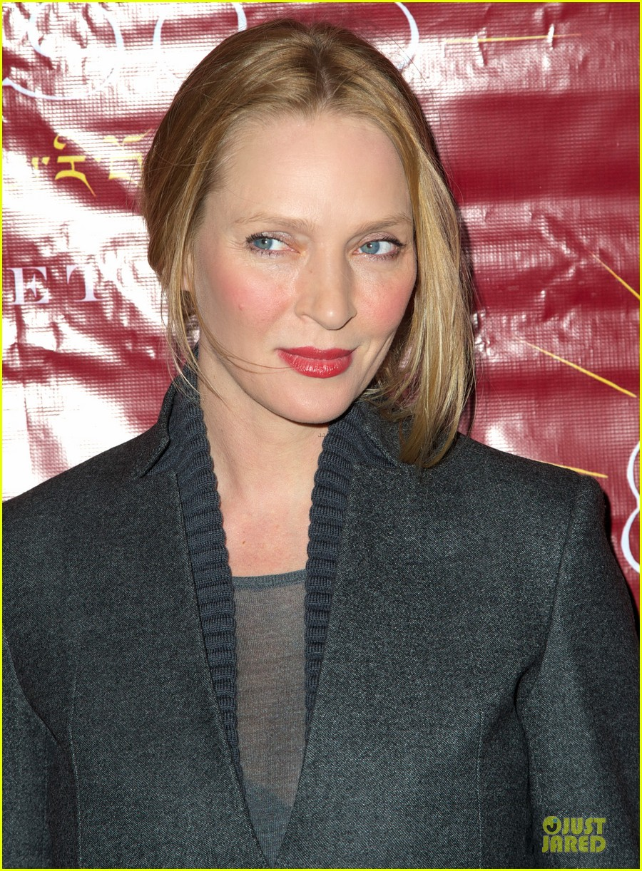 uma thurman tibet house benefit auction 04
