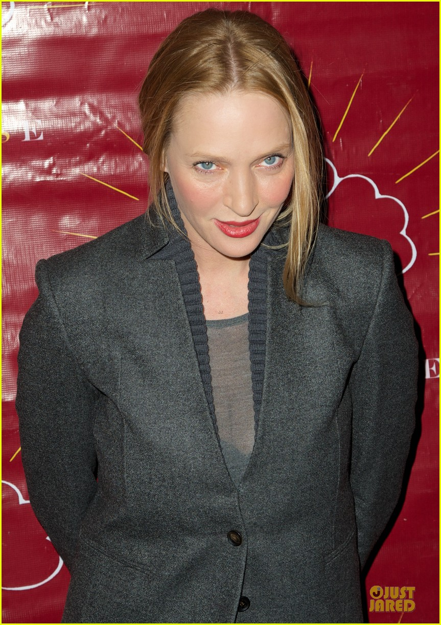 uma thurman tibet house benefit auction 08
