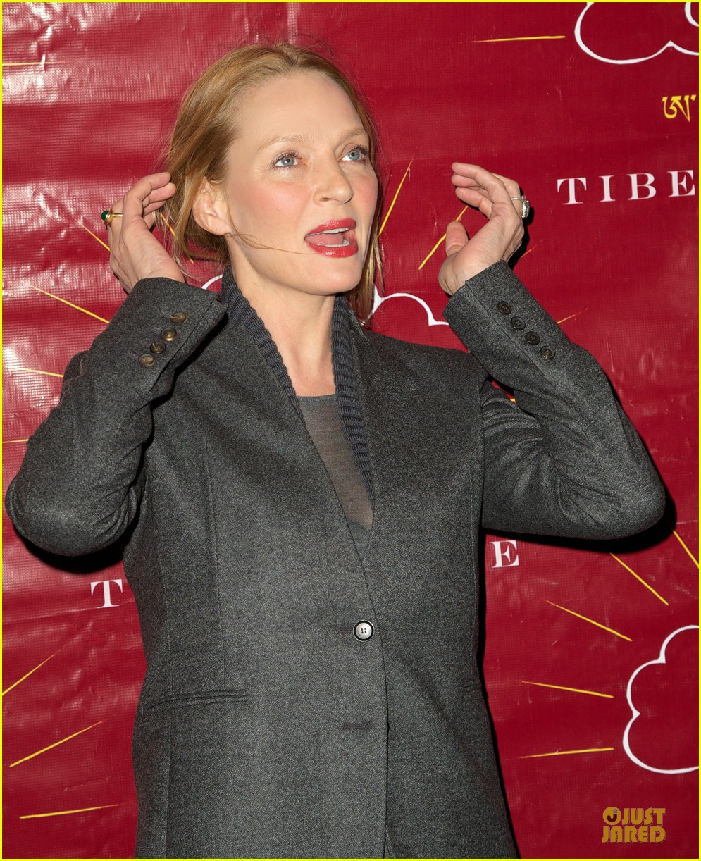 uma thurman tibet house benefit auction 102778146
