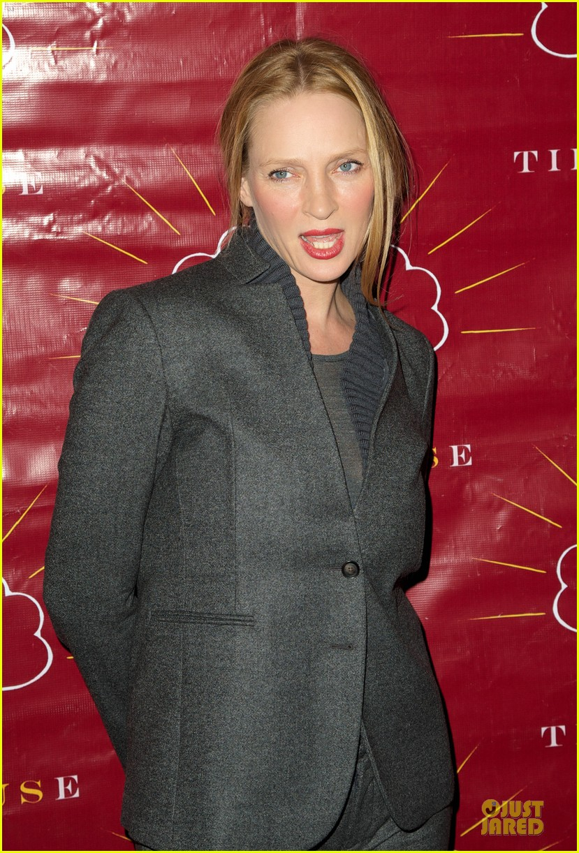 uma thurman tibet house benefit auction 112778147