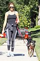 kate walsh dog walk in griffith park 01