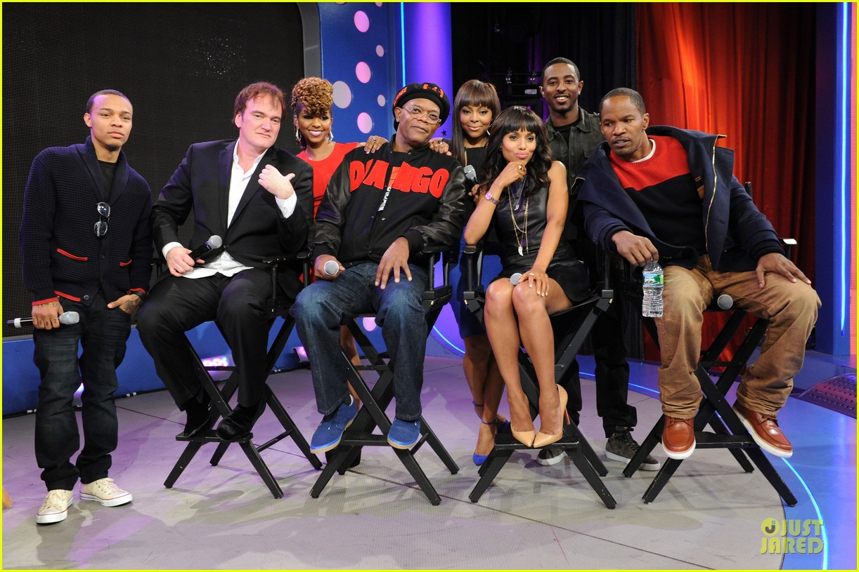 kerry washington & jamie foxx 106 & park appearance 12