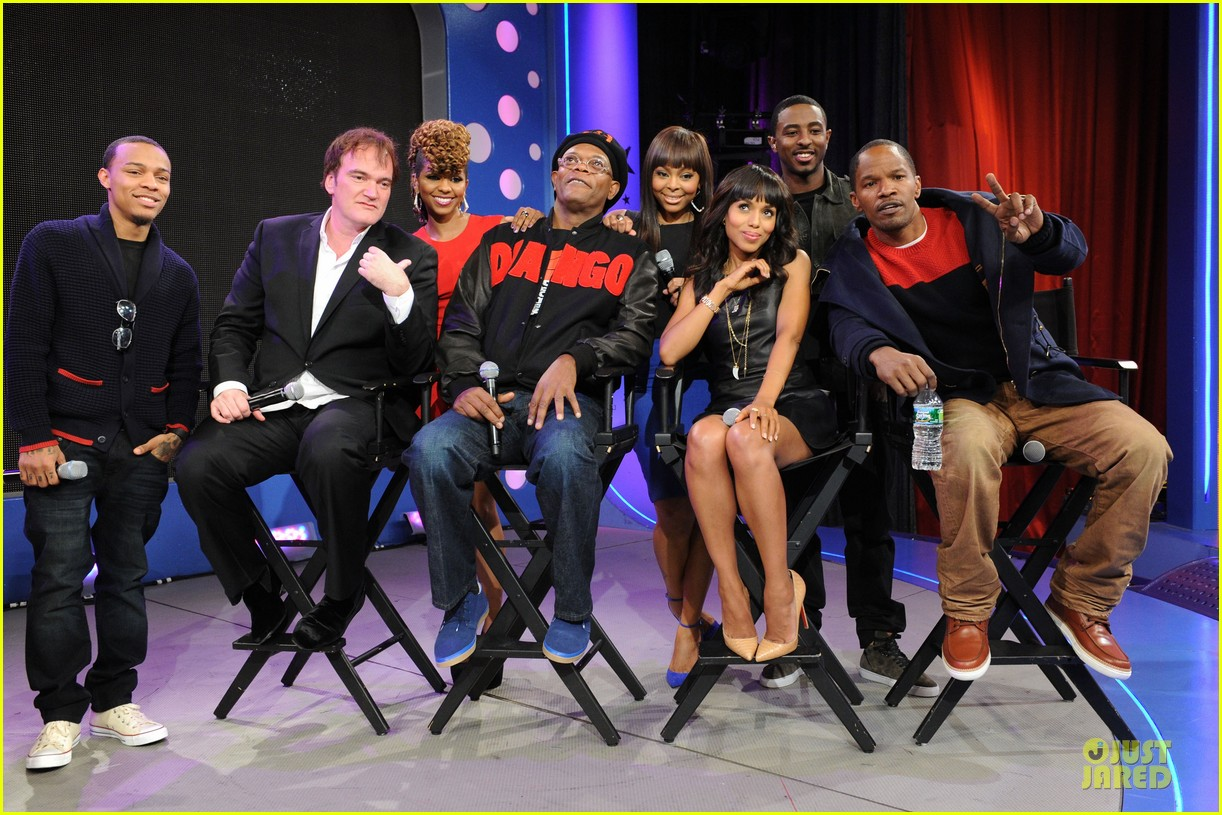 kerry washington & jamie foxx 106 & park appearance 26