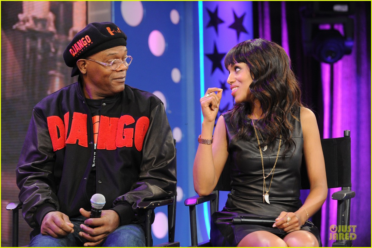 kerry washington & jamie foxx 106 & park appearance 33