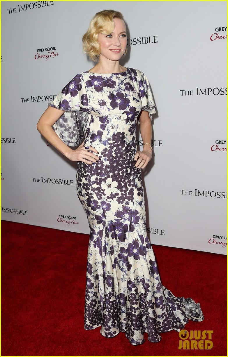 Naomi Watts The Impossible Premiere