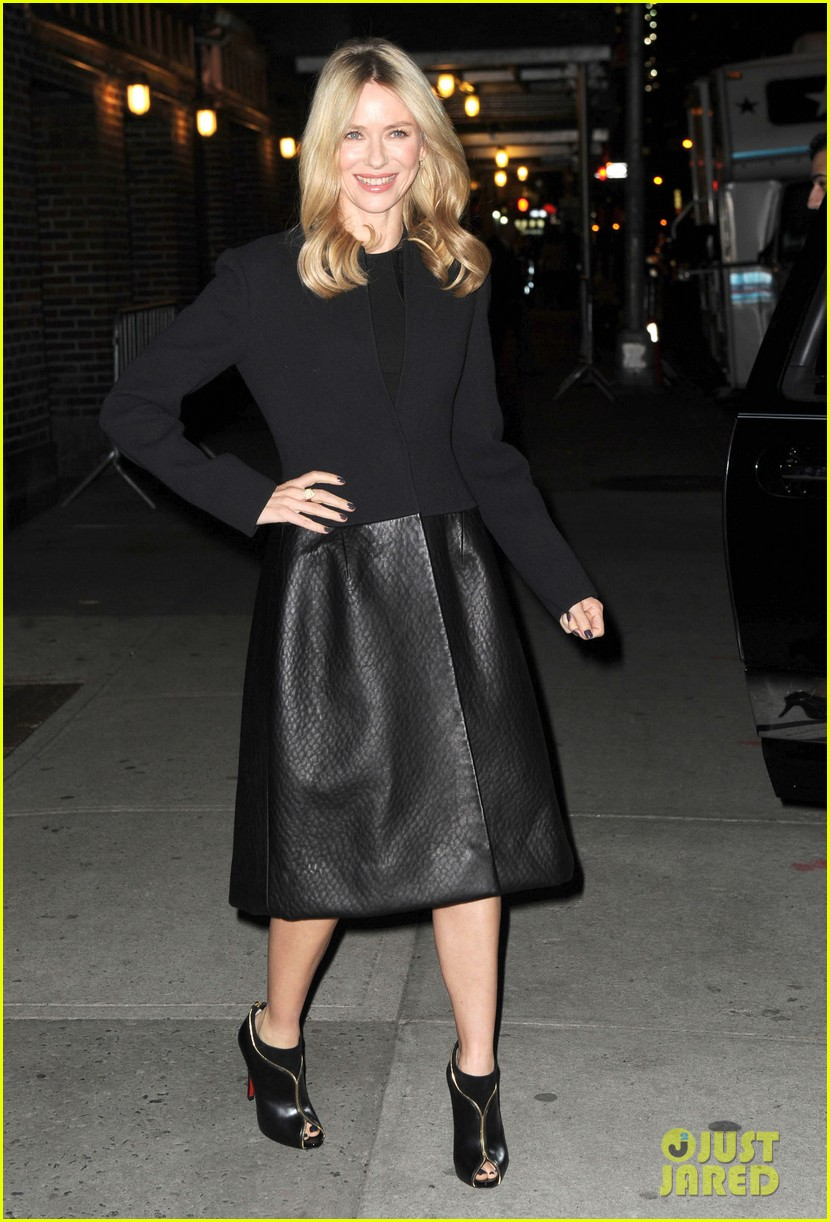 naomi watts late show with david letterman appearance 012779024