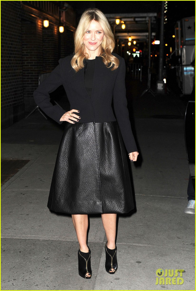 naomi watts late show with david letterman appearance 152779038
