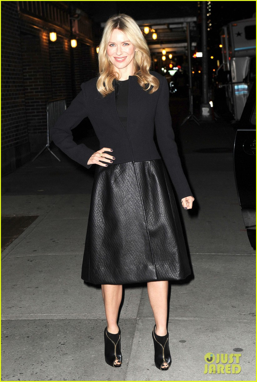 naomi watts late show with david letterman appearance 162779039