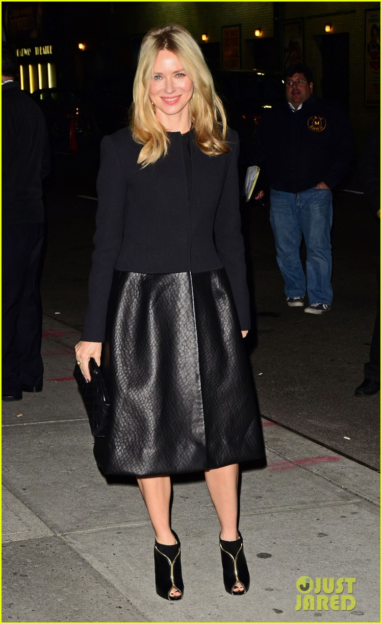 naomi watts late show with david letterman appearance 182779041