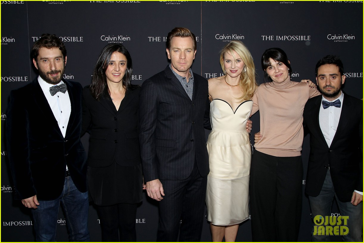 naomi watts ewan mcgregor impossible ny screening 242774774