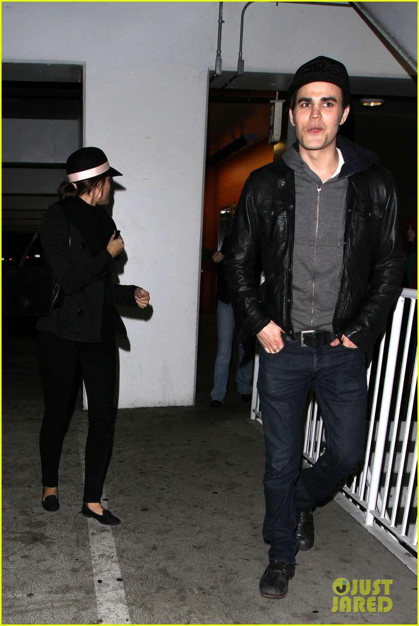 paul wesley torrey devitto les miserables date night 02