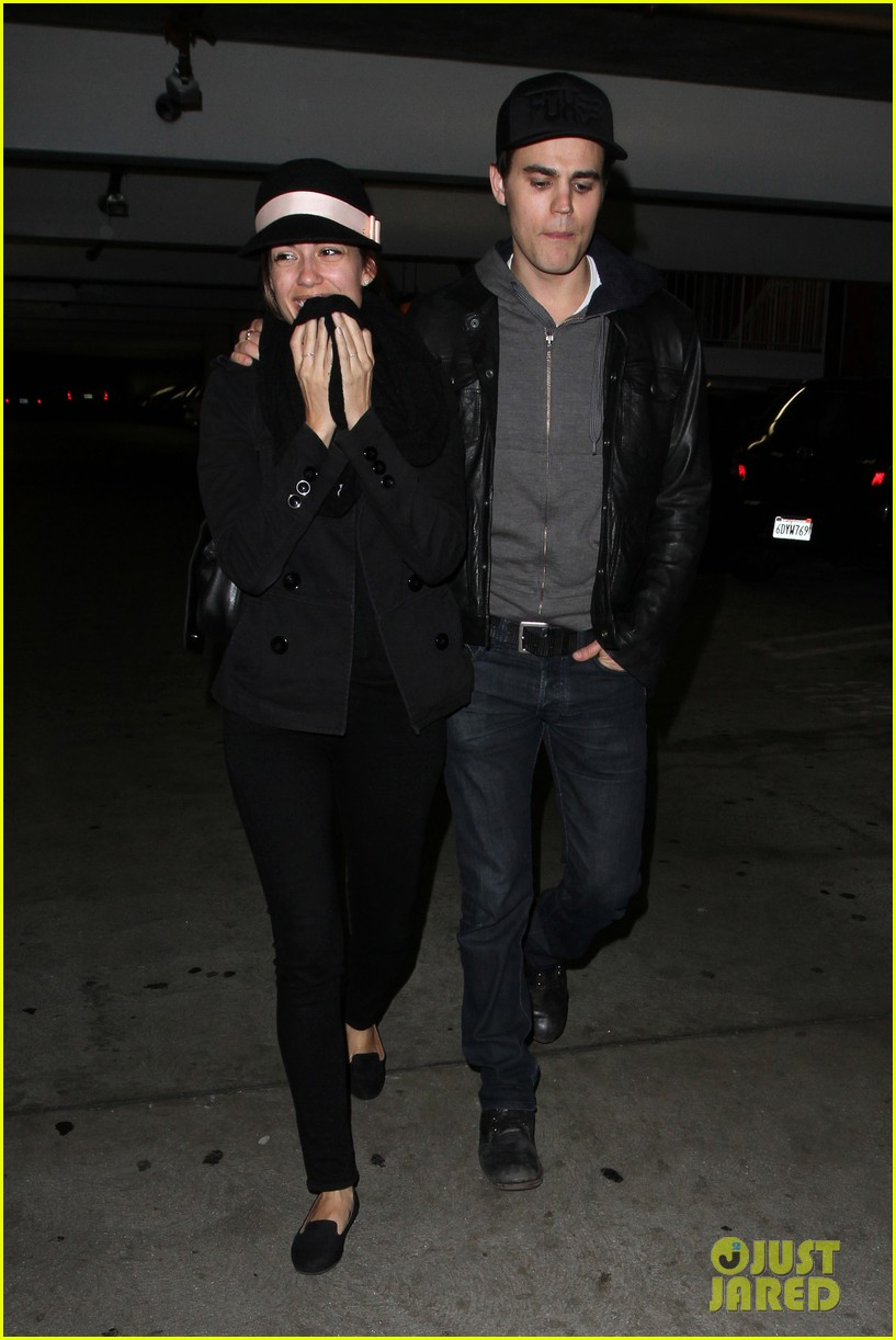 paul wesley torrey devitto les miserables date night 03