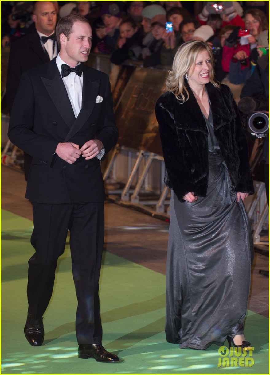prince william hobbit premiere without kate middleton 102774603