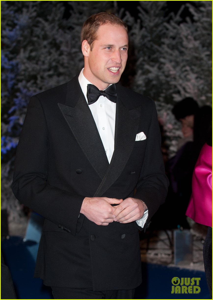 prince william winter whites gala without pregnant kate middleton 142771912