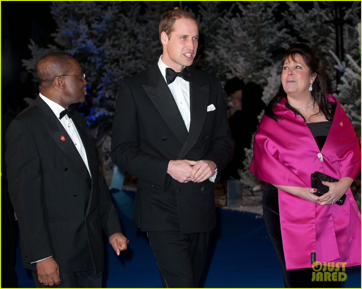 prince william winter whites gala without pregnant kate middleton 152771913
