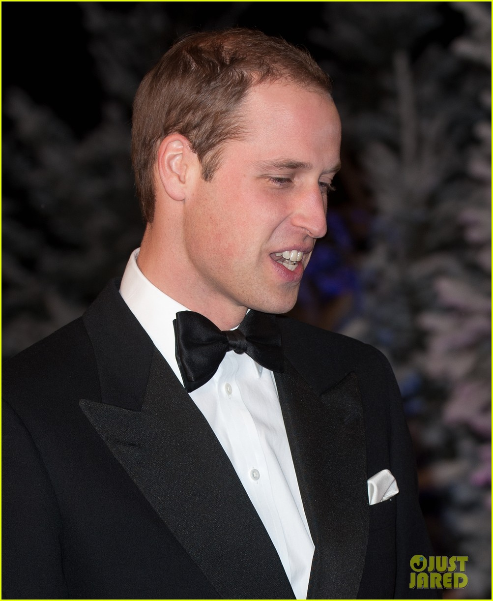 prince william winter whites gala without pregnant kate middleton 172771915