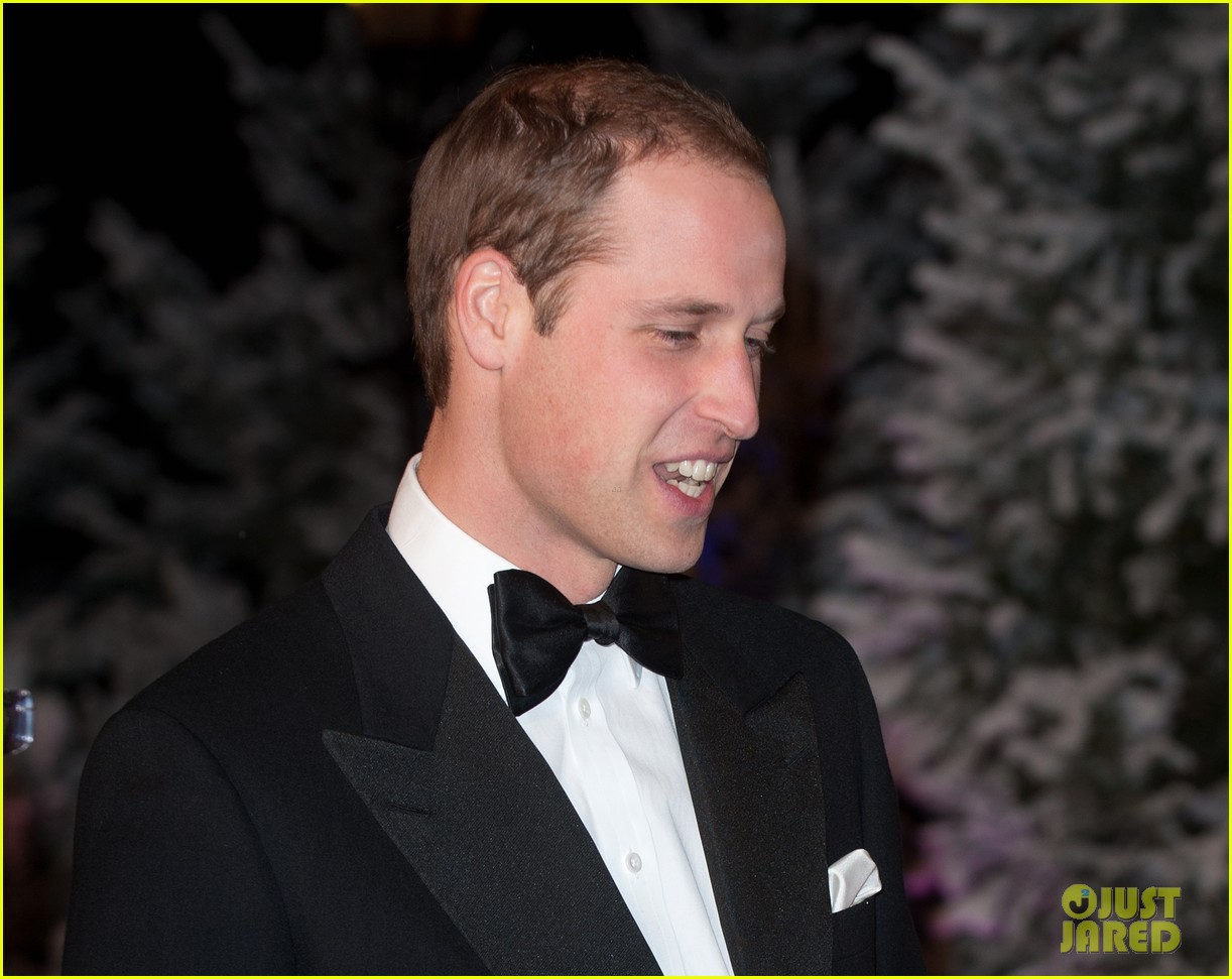 prince william winter whites gala without pregnant kate middleton 182771916