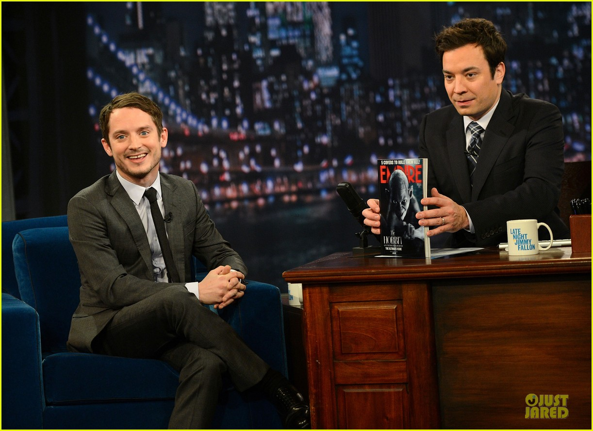 elijah wood late night with jimmy fallon appearance 142771745