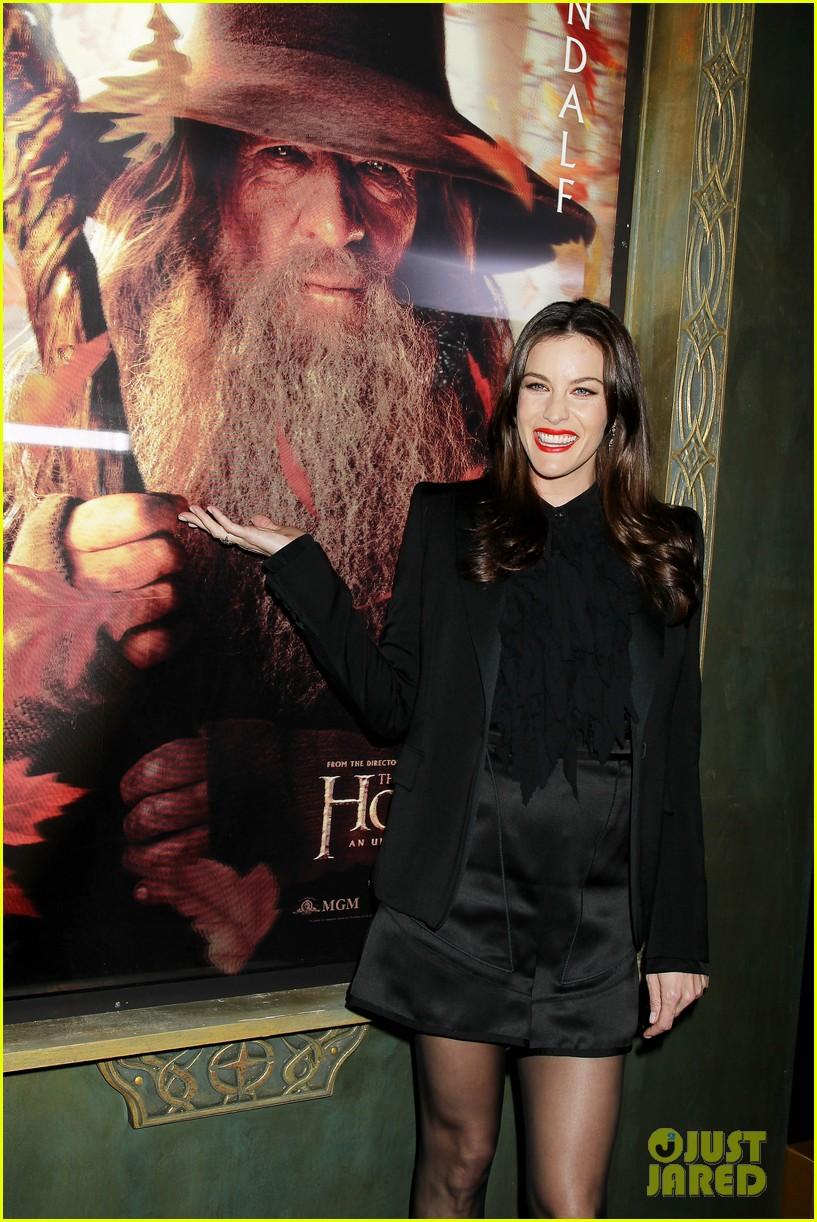 elijah wood liv tyler the hobbit new york premiere 212770759