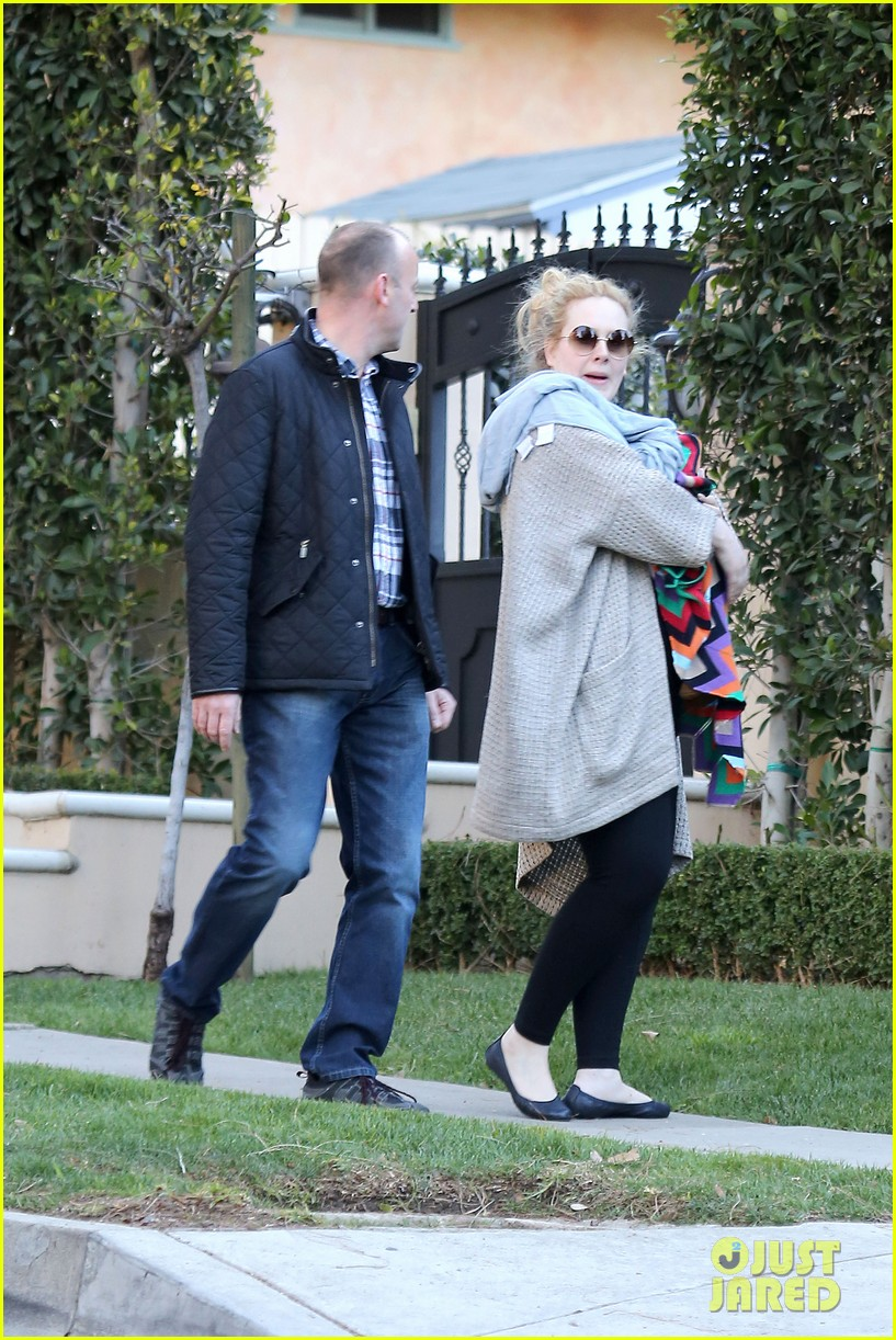 adele beverly hills stroll with baby boy 082793282