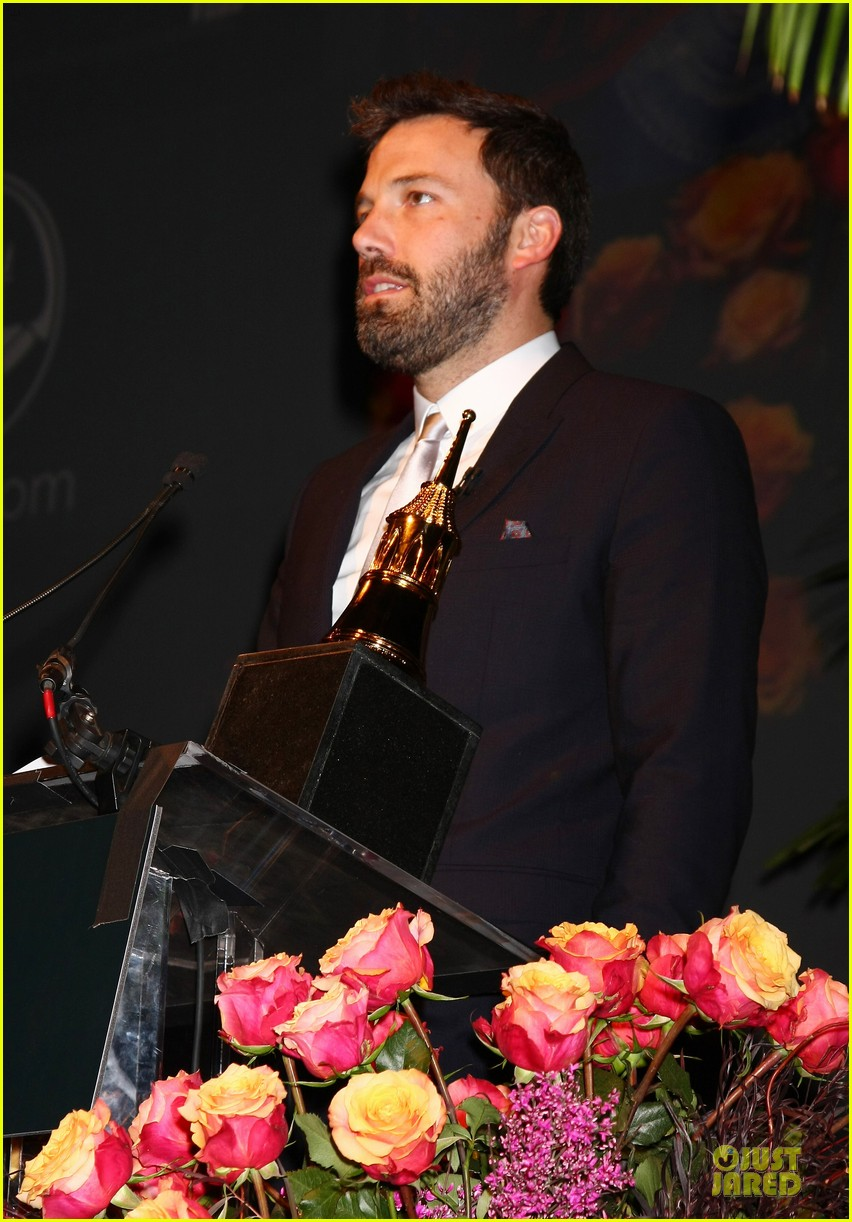 ben affleck santa barbara international film festival modern master award recipient 10