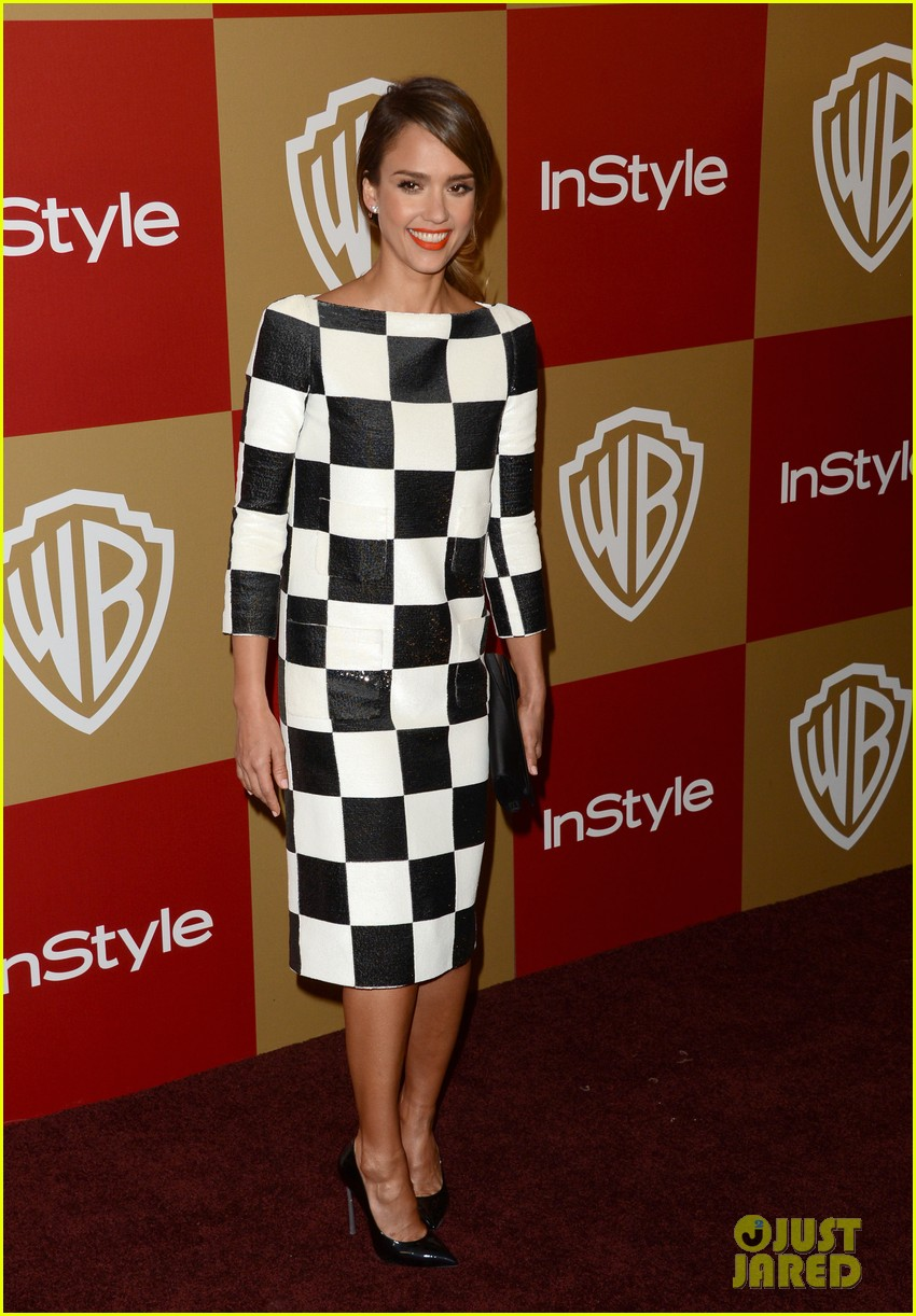 jessica alba sophia bush instyle golden globes party 03