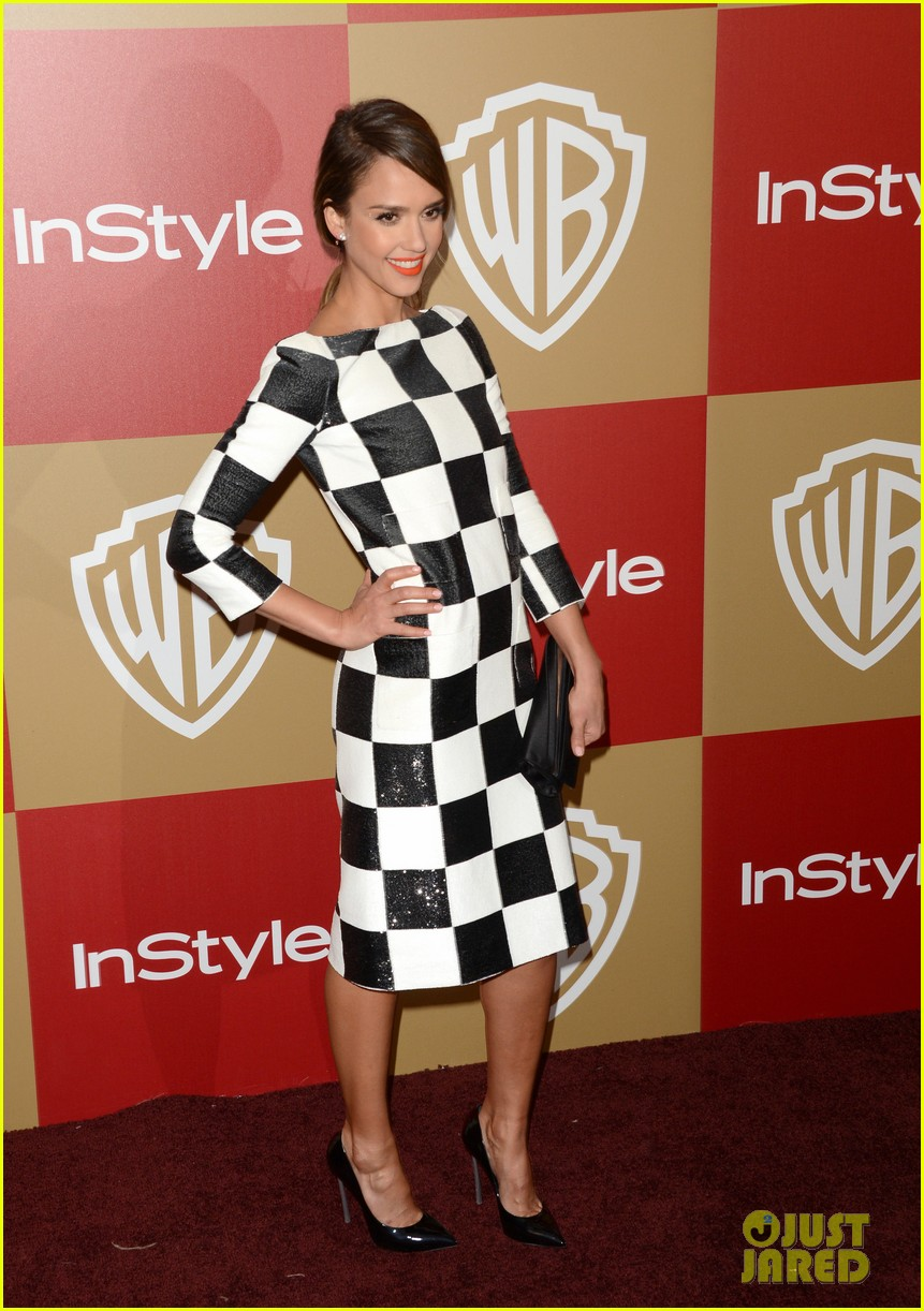 jessica alba sophia bush instyle golden globes party 062791997