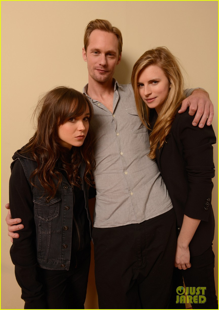 alexander skarsgard ellen page the east portraits 07