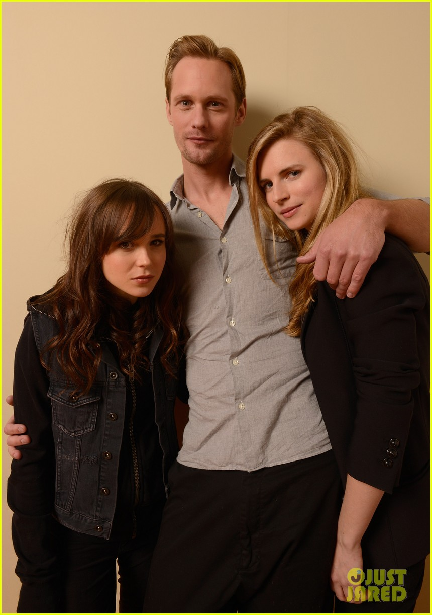 alexander skarsgard ellen page the east portraits 082795477