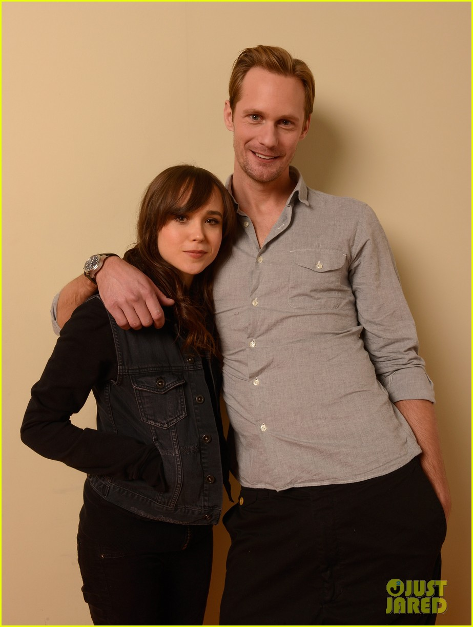 alexander skarsgard ellen page the east portraits 212795490