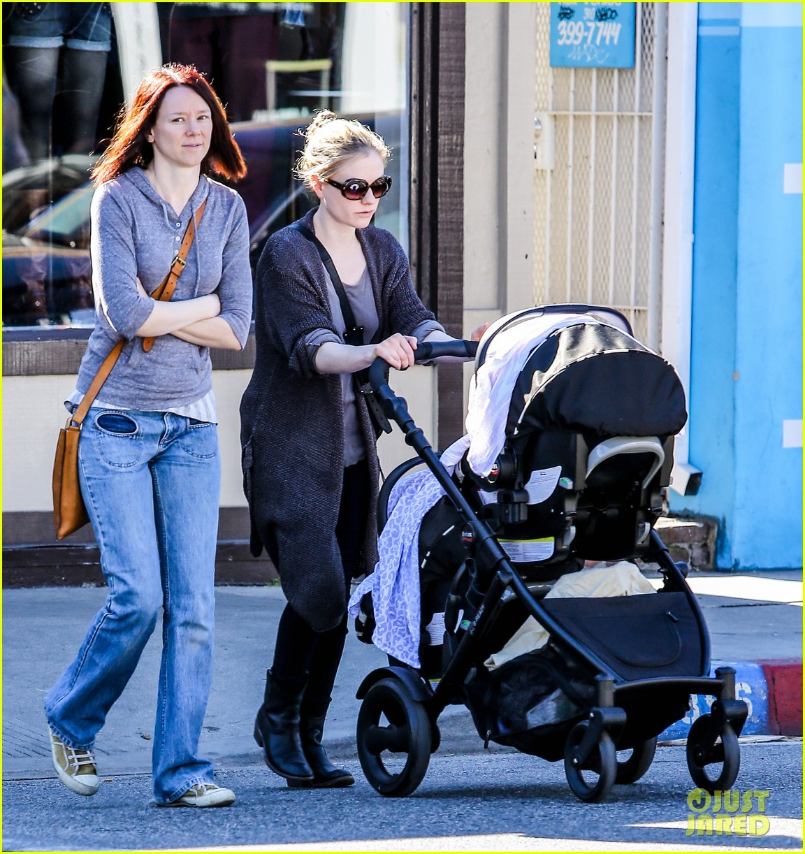 anna paquin stephen moyer shopping with the twins 032796652