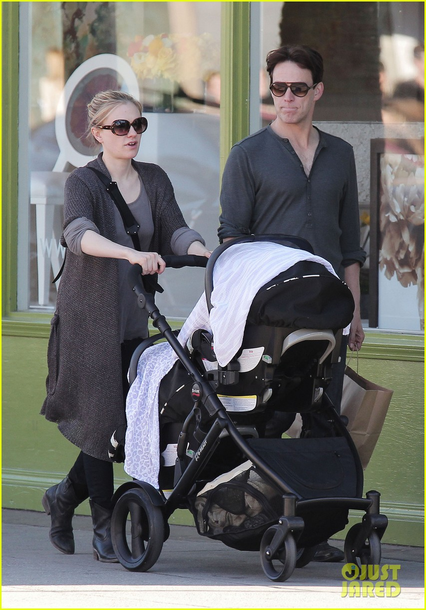 anna paquin stephen moyer shopping with the twins 062796656