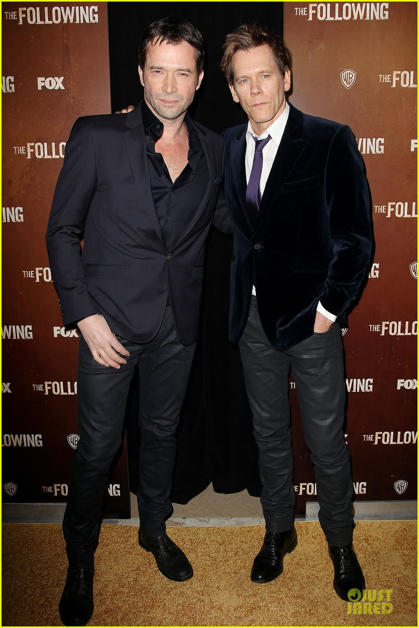 kevin bacon nico tortorella the following premiere 082794546