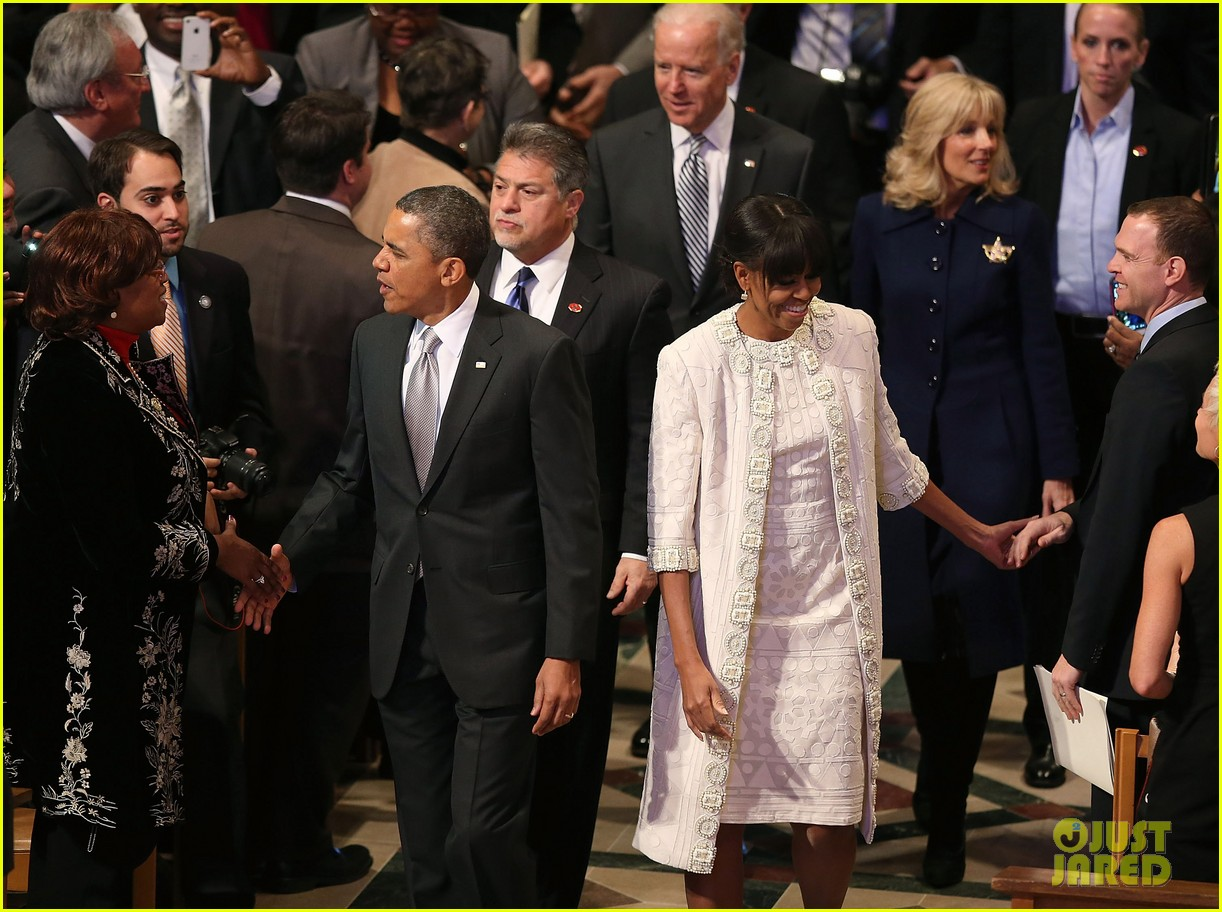 barack michelle obama national prayer service after inauguration 122796768